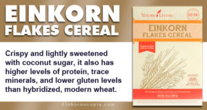 Young Living Einkorn Flakes Cereal