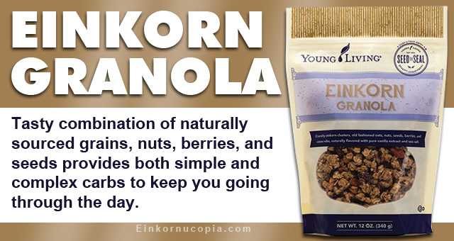 Young Living Einkorn Granola