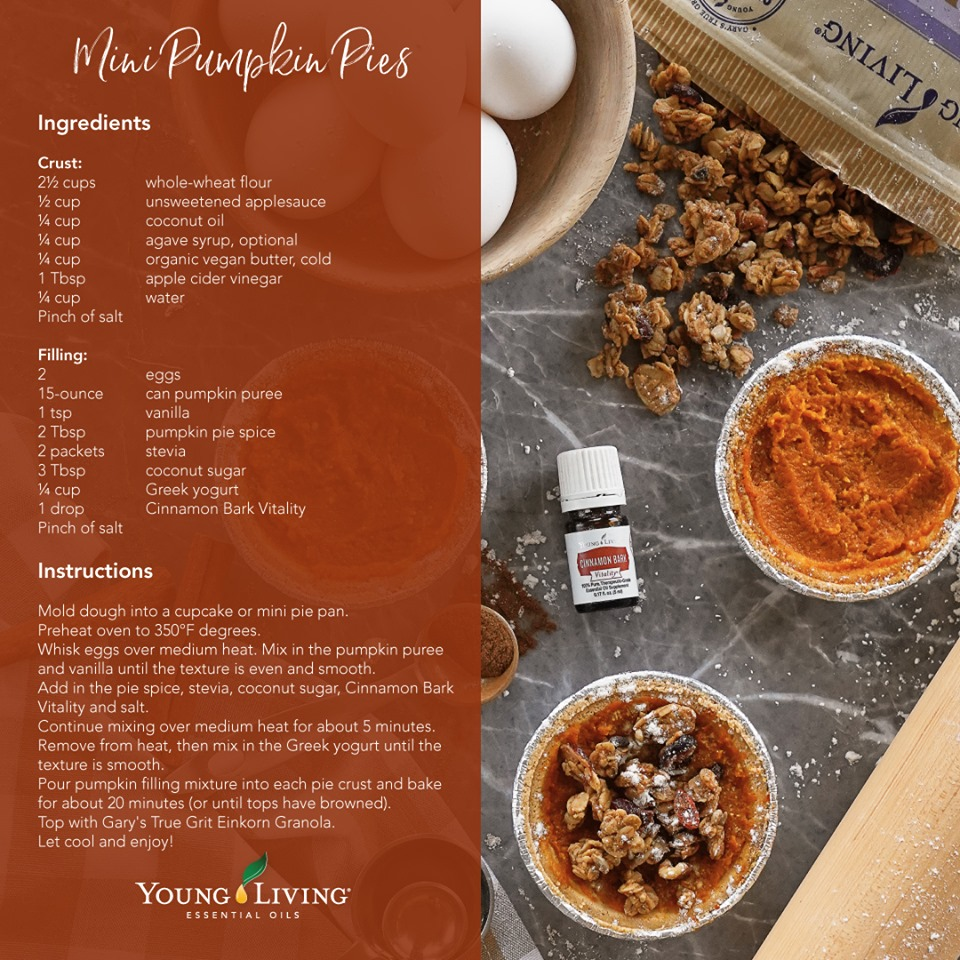 Recipe: Mini Pumpkin Pies